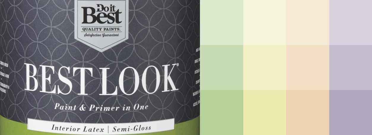 Best Look paint logo with paint swatches