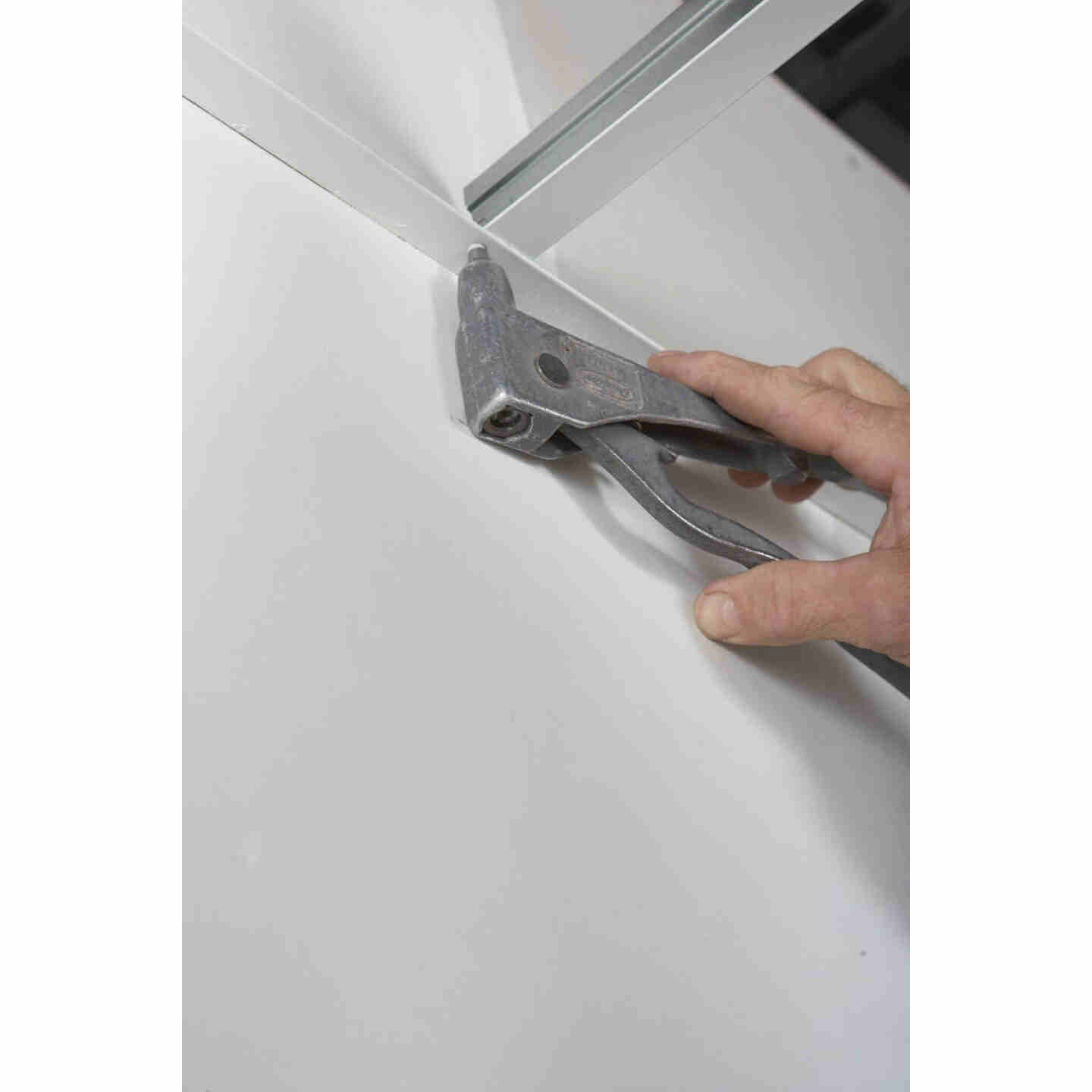 Donn 12 Ft. x 7/8 in. White Steel Ceiling Wall Molding Image 5