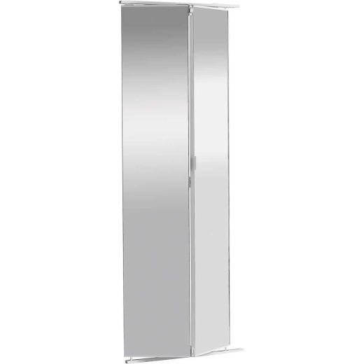 Colonial Elegance 36 In. W x 80-1/2 In. Frameless Mirrored Bifold Door