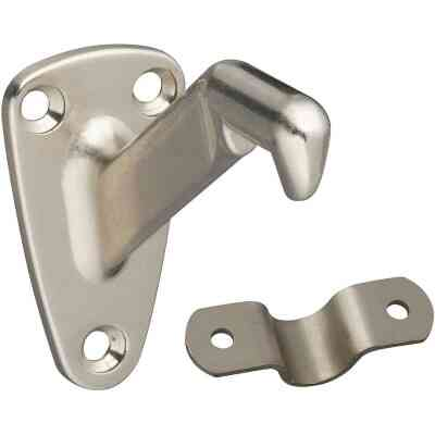 National Gallery Series Satin Nickel Handrail Bracket