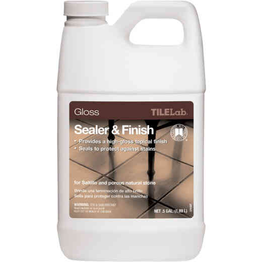 Custom Building Products TILELab 1/2 Gal. Gloss Tile Sealer & Finish