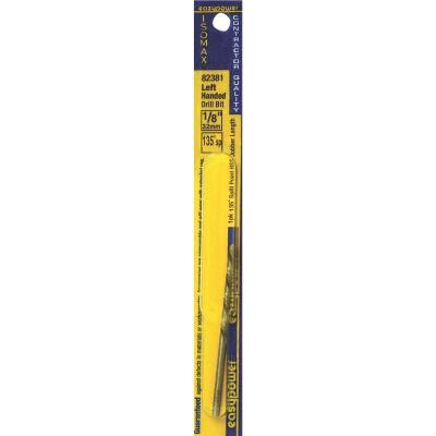 Eazypower 1/8 In. High Speed Steel 135 deg Left Hand Drill Bit
