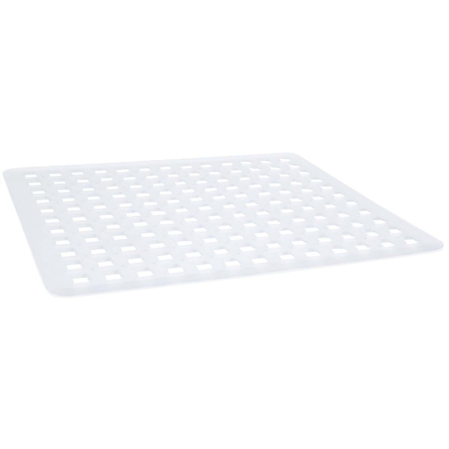 InterDesign Sinkworks 11 In. x 12.5 In. Euro Sink Mat Image 1